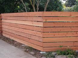 horizontal fence styles. Horizontal Wooden Fence Styles