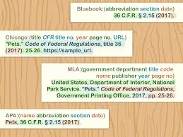 4 Ways To Cite The Code Of Federal Regulations Wikihow