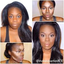 best contouring makeup s highlight contour on dark skin where was this during my makeup unit