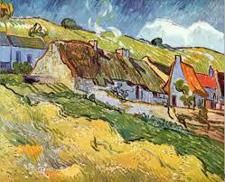 vincent van gogh farmer huts in auvers