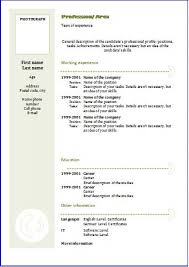Sample Of Personal Information In Resume Free Personal Information