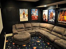 Ideas : Bakers Rack Decorating Ideas With Sofa Gray Ideas of Cool Home  Theater Rooms Home Theatre Design Home Theater Decor Media Room Design  also Ideass