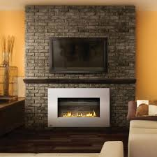 how do you mount a flat screen tv on brick fireplace image
