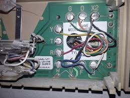 old trane thermostat wiring old image wiring diagram old trane thermostat wiring old auto wiring diagram schematic