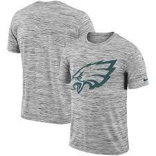 Eagles Nfl Performance Philadelphia T-shirt Nike Velocity Black Legend Sideline Men's Travel|He Attended School At Colgate University