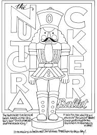 Small Picture Freebie Nutcracker Coloring Page Stamping