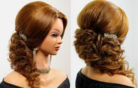 Wedding Hair Style Picture prom wedding hairstyle for long hair tutorial youtube 3466 by wearticles.com