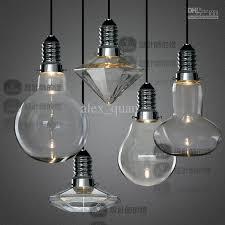 LED 3W Modern Creative Glass Pendant Lights Crystal Pendant Lamp for Bar  Dining Room Designer Lighting