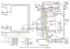 bronco com technical reference wiring diagrams 1971 Ford F100 Wiring Lamp 66 67 � exterior lights and turn signals Ford Truck Wiring Diagrams