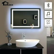 Illuminated wall mirrors for bathroom Popular Bathroom Wall Mounted Mirror With Light Wall Mirrors Led Wall Mirror Frame Illuminated Wall Mirrors For Bathroom Monthlyteesclub Wall Mounted Mirror With Light Wall Mirrors Led Wall Mirror Frame