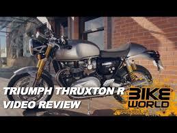 2016 triumph thruxton r review