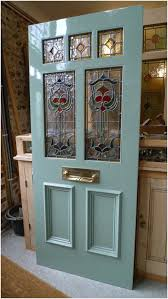 victorian and edwardian glazed front doors for stained glass exterior ideas 0