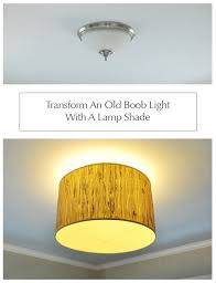 transform an old light with a lamp