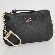 gucci key pouch. gucci soho leather key case black mens pouch