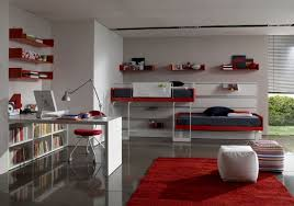 Interior Exciting Modern Awesome Interior Teenage Bedroom - Cool bedroom decorations