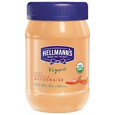 Hellmans Light Mayo Barcode Hellmanns Spicy Chipotle Organic Mayonnaise Spread 15 Oz Pack Of 6