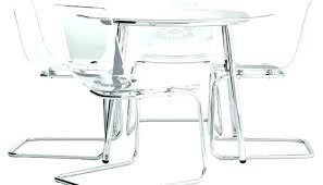 clear acrylic dining table amazing collection remarkable round singapore m set furniture large legs