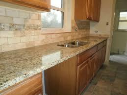image of st cecilia light granite countertops and backsplash