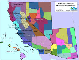 California Maps Air Quality Analysis Pacific Southwest