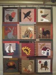 Calendar quilt from Nancy Halvorsen's book,