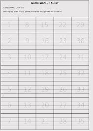 Blank Volunteer Sign Up Sheet Templates For Microsoft Word Excel
