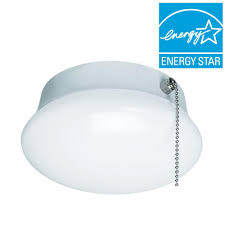 bright cool white integrated led flushmount ceiling light lampholder bulb