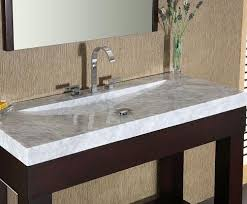 bathroom vanity tops sinks. white carrara marble stone bathroom vanity top with integrated bowl from xylem tops sinks n