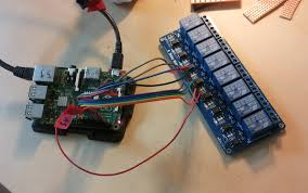 raspberry pi triggers sainsmart 250v relays board knight of pi raspberry pi sainsmart 8 channel 250v relays board