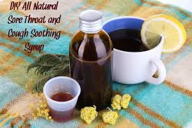 looking for a sore throat and cough soothing syrup that doesn t have junky ings