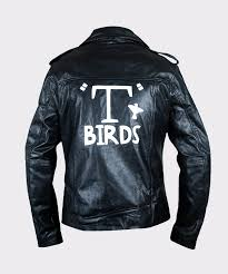 men s grease t birds danny zuko john travolta jacket