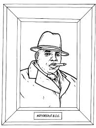 Gangster Rap Coloring Book The Stuff Of Life 5 Quirky Coloring Books