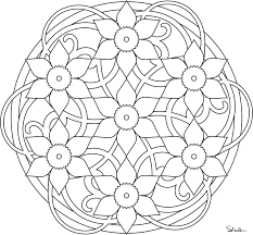 Small Picture Printable 45 Simple Mandala Coloring Pages 5476 Simple Mandala