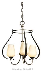 hubbardton forge 103047 flora wrought iron 19 inch diameter small chandelier lighting loading zoom