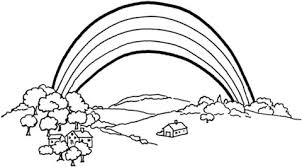 rainbow coloring pages. Perfect Pages The Rainbow Coloring Page In Coloring Pages N