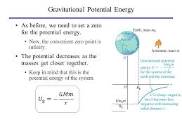 11 gravitational potential energy on earth