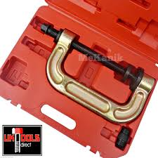 ball joint press tool. large ball joint separator c frame universal kit use with cups dishes press fit tool