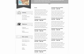 Resume Building Template Magnificent Resume Building Template Clean ResumeCv Vol Indesign Word Template