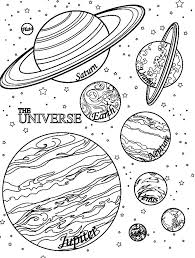 Free Printable Planet Coloring Pages Planets For Preschoolers ...