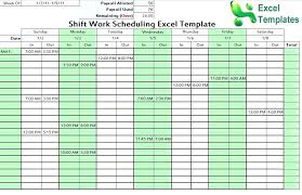 10 Hour Shift Schedule Templates Hour Shift Schedule Templates 24 Excel Rafaelfran Co