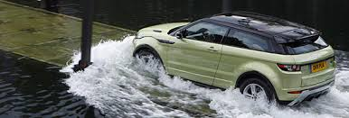 land rover evoque water car