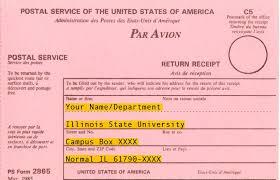 back of registered return receipt
