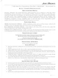 Retail Assistant Resume Template Retail Resumes Examples Retail