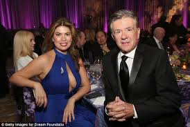 alan thicke wife. Delighful Alan Tanya Signed A Prenup In 2005 When She Married The Growing Pains Star  But  Robin On Alan Thicke Wife B