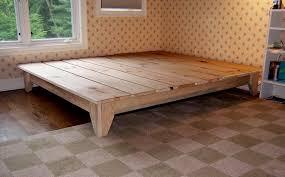 diy king size platform bed plans. Plain Plans How To Build A Platform Bed Frame Intended Diy King Size Plans L