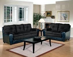 sofa black modern couch57