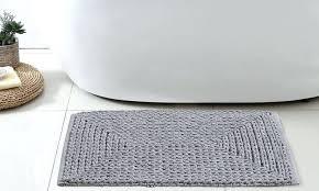 chunky chenille bath rug set of 2 loop mat mundoreiki co