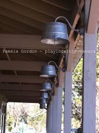 do it yourself outdoor lighting. love these washtub lights for the porch do it yourself outdoor lighting o