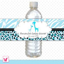 Personalized Baby Shower Water Bottle Labels Baby Shower Water Baby Boy Shower Water Bottle Labels