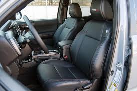 2017 toyota tacoma trd pro front seats
