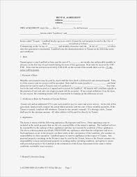 Landlord Breach Of Contract Lovely 14 Beautiful Free Blank Lease ...